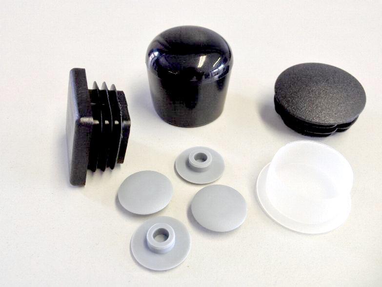normalien verschlusskappen stopfen f r bohrungen rund und vierkantrohre shop. Black Bedroom Furniture Sets. Home Design Ideas